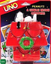 UNO - Peanuts Charlie Brown Chiristmas - UNO Card Game