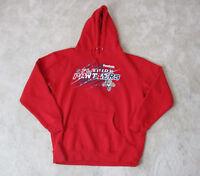 Reebok Florida Panthers Hoodie Jacket Adult Large Red NHL Hockey Sweater Mens *