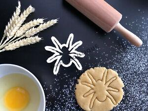 Spider Cookie Cutter 01 | Fondant Cake Decorating | UK Seller