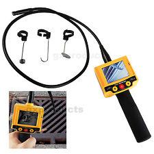 Borescope Video Inspection 10mm Camera Endoscope 180° Rotation 2 LED Snake Scope