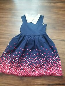 JANIE AND JACK DRESS GIRLS KIDS SIZE 8 BLUE
