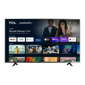 """TCL 55"""" Class 4-Series 4K UHD HDR Smart Android TV - 55S434 BLACK NEW SLEEK"""