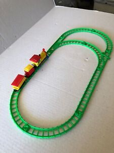 Vintage Train Set - battery-operated- made in Hong Kong In Used Condition