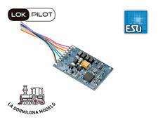 ESU 53611 LokPilot Standard DCC, 8 pole plug NEM652, Con cables, 4 salidas ampli
