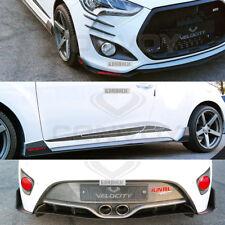 Velocity Full Exterior Package for Hyundai Veloster Turbo  [Matte Black]