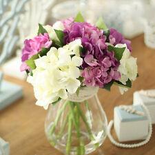 Mini Hydrangea Flores Artificiales Flor Artificial Muebles Salón Mesa De Comedor