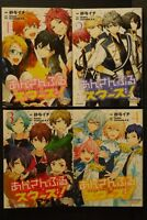 JAPAN manga LOT: Mobile Game: Ensemble Stars! vol.1~4 Complete Set