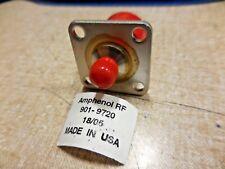 "Amphenol 901-9720 RF Coaxial Adapter (SMA Jack, Type N) ""NEW"""