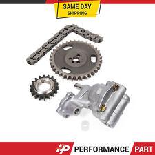 Timing Chain Kit Oil Pump for 92-98 Chevrolet GMC Isuzu Oldsmobile V6 4.3 OHV