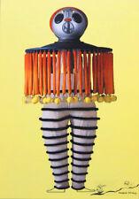 "Tarjeta de arte/Postcard Oskar Schlemmer ""el triadische ballet. el buzo"""