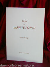 KEYS TO INFINITE POWER. Occult, Magic, Finbarr. Magick, Witchcraft, Grimoire