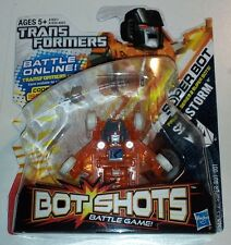 "TRANSFORMERS BOT SHOTS DECEPTICON ""SUNSTORM"" SERIES 2 SUPER BOT 001 MOC HASBRO"