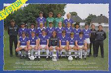 EVERTON FOOTBALL TEAM PHOTO>1984-85 SEASON