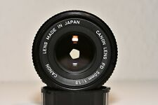 CANON FD LENS 1:1,8 / 50mm - in Topzustand - wenig genutzt - 100% in Ordnung