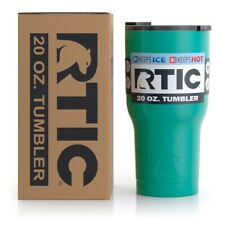 RTIC 20 oz Tumbler Hot Cold Double Wall Vacuum Insulated 20oz TEAL