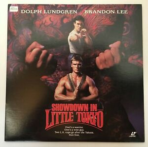 SHOWDOWN IN LITTLE TOKYO Laser disc 1991 Dolph Lundgren Brandon Lee Mark Lester
