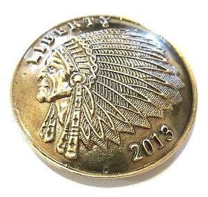 concho snap chief coin rustic biker solid belt wallet screw snap