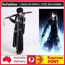 Anime Sword Art Online SAO Kirito Kazuto Kirigaya Cosplay Costume Party Dress