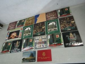 Nystamps Portugal China Macau mint NH stamp presentation folder collection