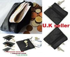MONETA in Vera Pelle ID Credito Business Card Caso Holder Portafogli Tasca UK zip2cn