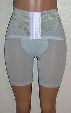 J NEW Light Green Power-net Long-Leg Panty Girdle Front Hook Waist Cincher 28W M