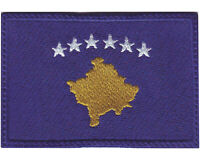 Kosovo Flag Embroidered Patch