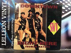 "SWV Downtown / Right Here 12"" Single Vinyl Record 7863-62658 A1/B1 Soul R&B 90's"