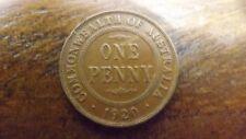 PENNY 1920 FINE VERY NEAT 6 PEARLER LONDON DIE