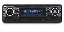 Calibre rmd120bt Negro Coche Clásico Retro Stereo Fm Usb Sd Aux Bluetooth A2dp
