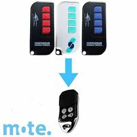 Avanti/Centurion Garage Door Compatible TX4/MPS/DPS/SDO21 Remote T Series NEW