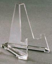 Flat Back Triangle Easel Display Stands for coins, tiles, arrowheads (1 dozen)