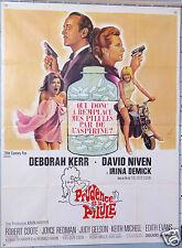 AFFICHE ANCIENNE FILM 1968 PRUDENCE ET LA PILULE DEBORA KERR DAVID NIVEN