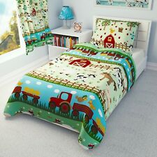 FARM ANIMALS Baby Bedding Set Duvet Covers for Cot/Cot bed/Toddler 100% COTTON