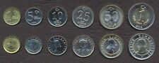 TURKEY COMPLETE COIN SET 1+5+10+25+50 New Kurus +1 Yeni Lira 2005-2007 UNC LOT