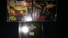 FREAKINGS 3 cd lot ctm christian thrash metal mortification slayer death