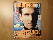 Bbc Sports Magazine-Grand Prix '99-Damon Hill, Fight Back-Divers/Teams/Circuit s