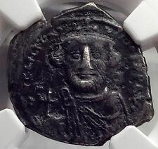 CONSTANS II Pagonatos Silver Hexagram Cross Ancient Byzantine Coin NGC VF i58606