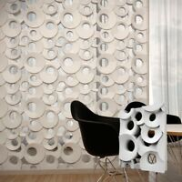 *RING* Set of 2pcs 3D Decorative Wall Block Panels. ABS Plastic mold for Plaster