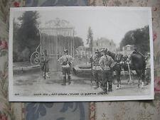 CPA tableau Salon peinture 1906 Petit-Gérard - le quartier général - militaire