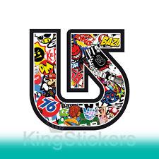 STICKER ADESIVO - BURTON - STICKERS BOMB - PVC auto stickersbomb logo volkswagen