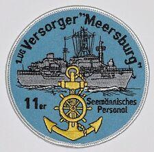 Patch Aufnäher 1. UG - Versorger Meersburg 11er Seemännisches Personal ....A5257