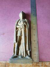 Templar Knight Doorstop Book End Fire Companion cast iron