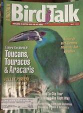 **BIRD TALK MAGAZINE May 96 Toucan Bare Eyed Cockatoo Pellets Black Cap Conure