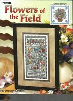 Flowers of the Field Leisure Arts 3473 Pattern for Cross Stitch 2003 Sampler