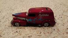 Red with Blue flames true value 1939 Chevy sedan delivery collectible