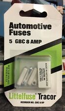 Littelfuse Tracor Automotive Fuses Gbc 8 Amp, Ceramic, (Pack of 5) Gbc 8 Bp