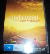 Undaunted The Early Life Of Josh McDowell (Australia Region 4) DVD – Like New