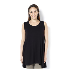 Join Clothes Sleeveless Jersey Tunic Black Size Medium rrp £72.00