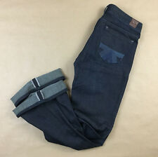 AMERICAN EAGLE WOMENS Real Flare JAPANESE SELVEDGE JEANS TAG 2 R Actual 28x32