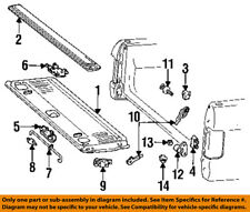 FORD OEM F-250 Tail Gate Tailgate Hatch-Handle Outside Exterior F1TZ9943400A